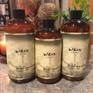 Wen Other - Wen Sweet Almond Conditioner ~ Lot of 3